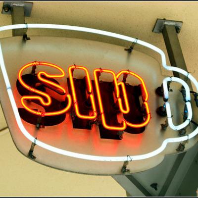 sip neon sign